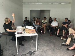 Oliver Weber's lecture