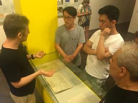 Eike Feß guided tour at the Arnold Schönberg Center