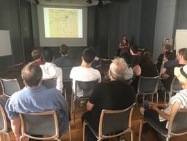Áine Heneghan lecture at the Arnold Shönberg Center