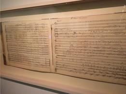 Schoenberg's handwritten score