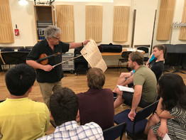 Irvinne Arditti's lecture on contemporary violin