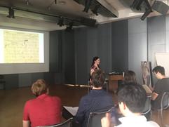 Áine Heneghan lecture at the Arnold Shönberg Center