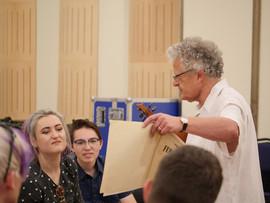 Irvine Arditti's lecture