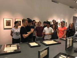 Arnold Schoenberg Center visit