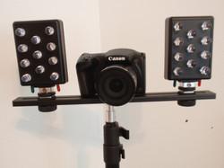 Canon Full Spectrum Camera and light