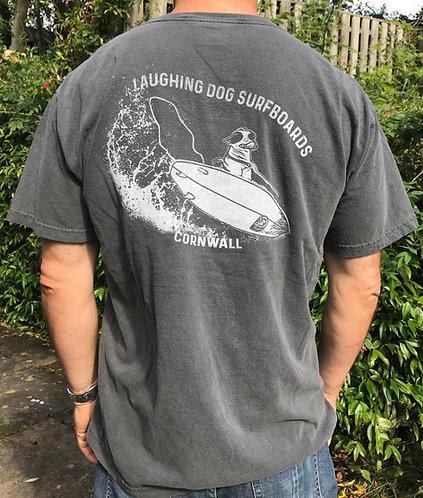 Mens Wave Spray Design Tshirt
