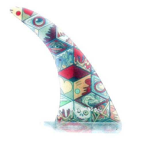 Flexi 9 inch in Trippy Design