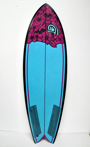 Twin Fin Fish Surfboard made to order