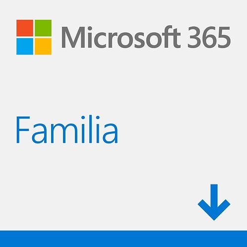 Microsoft 365 Family - Licencia de suscripción (1 año) - hasta 6 personas