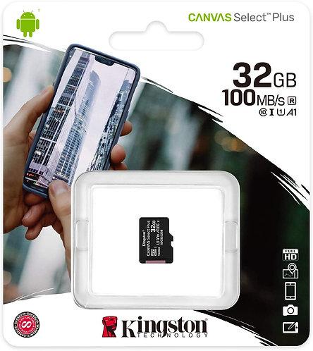 Unidad MicroSD Kington- 32 GB