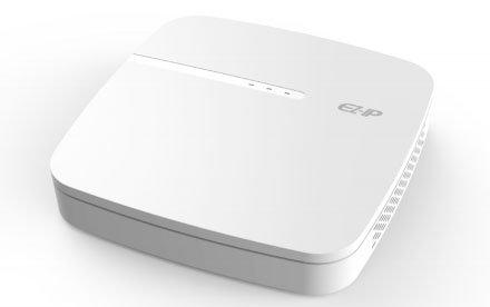 NVR DAHUA 4ch IP Ezip NVR1B04PL - H265 & H264 - 4 Ports PoE - rinde 48mbps - HDM