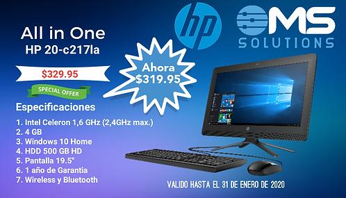 All in One HP 20-c217la