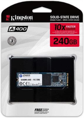 Kingston A400 - Unidad en estado sólido - 240 GB