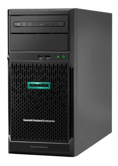 HPE ML30 Gen10 Intel Xeon E-2124 | 16G RAM | 1TB Svr | Sin SO