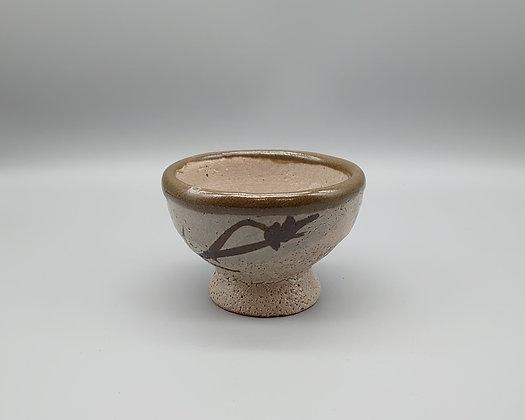 浜田庄司 作 鉄絵盃