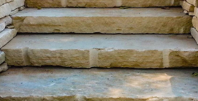 Large Natural Stone Steps