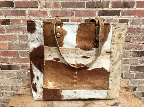 Medium Brown Cowhide Purse