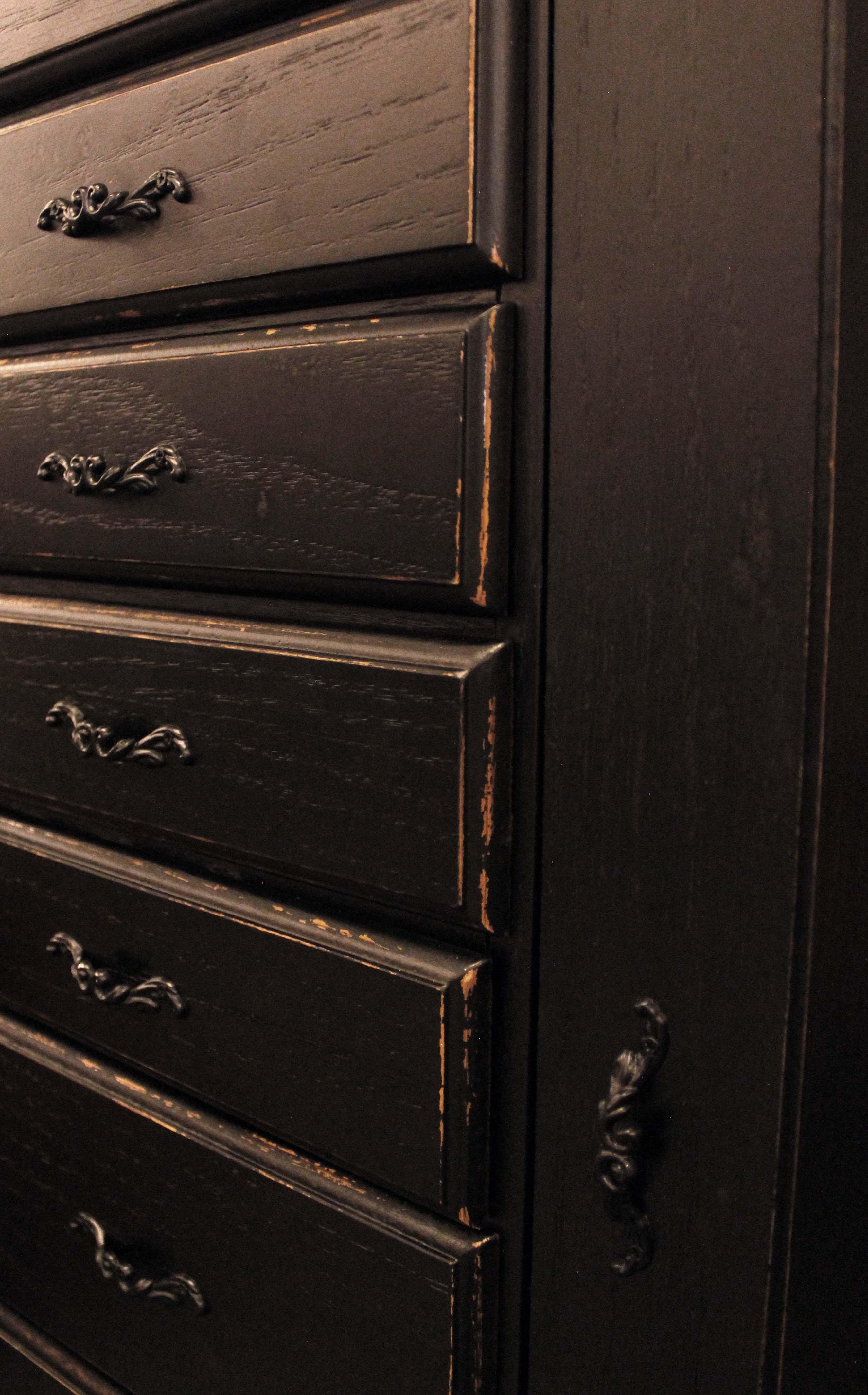 Little Black Dresser.