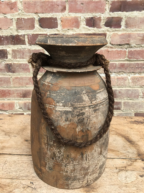 Recycled Wood Vase