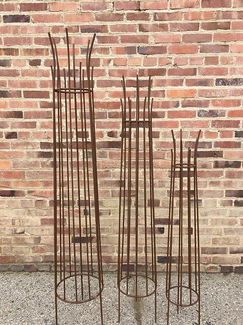 Metal Garden Obelisk
