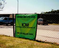 ICM Sponsor @ Helen Keller Park