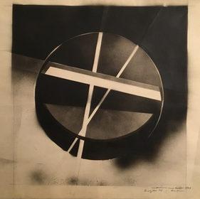 Sfera trasparente con piani di luce, 1964