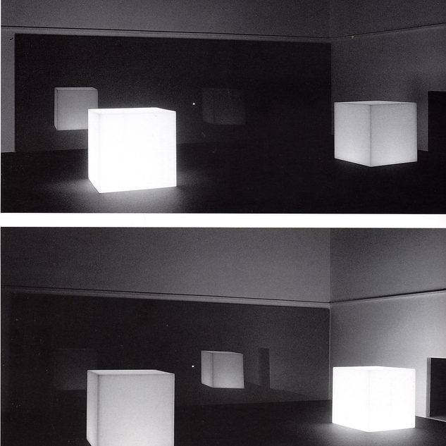 Travaso di Luce (Cubi), 1970