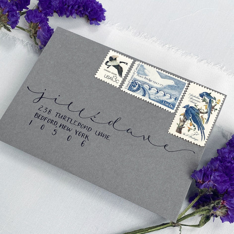 Isabel Calligraphy Reply Envelope