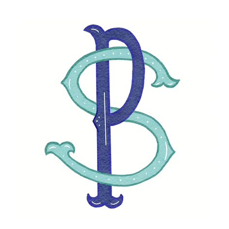 Decorative Monogram Sample