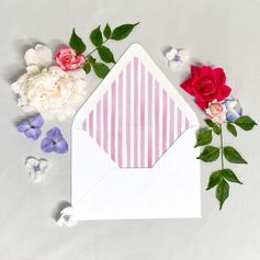 Olivia + Christian Lined Envelope