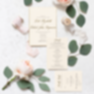 Kate + RJ Invitation Suite