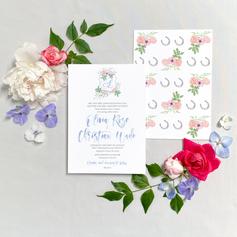 Olivia + Christian Reverse Printing