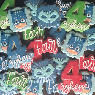 Catboy cookies for a PJ Masks loving lit