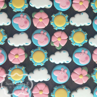 Peppa Pig minis for Miss Claire's birthd