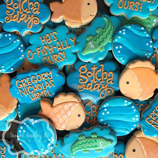 Cookies for a sweet family on their 'got