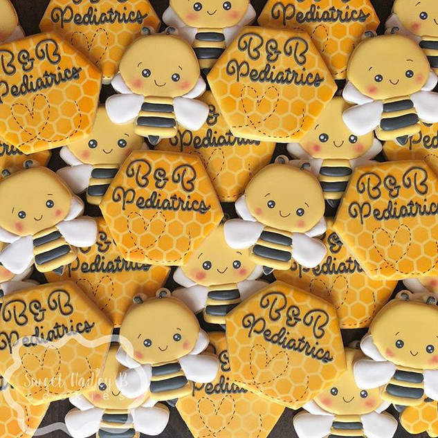 I love a good logo cookie. And these wer