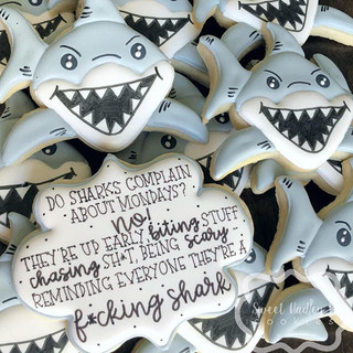 Be a shark!!_._Quote by _sgrstk_._#Decor
