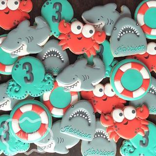 Shark attack!! It's Harrison's birthday