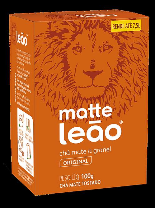 CHA MATTE GRANEL NATURAL LEAO 60X100GR