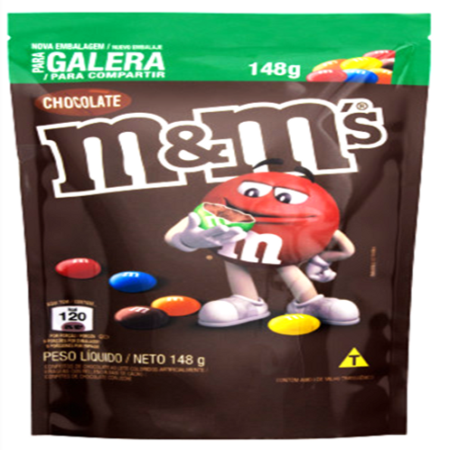 MM S CHOCOLATE AO LEITE MARS 24X148G