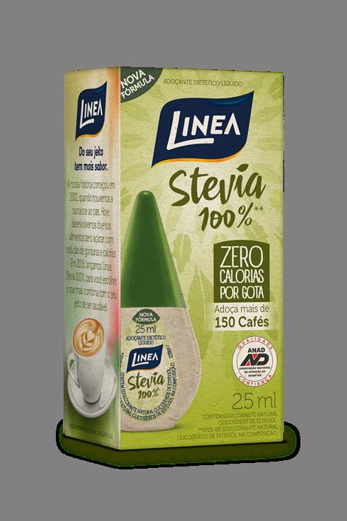ADOCANTE STEVIA LIQ LINEA 12X25ML