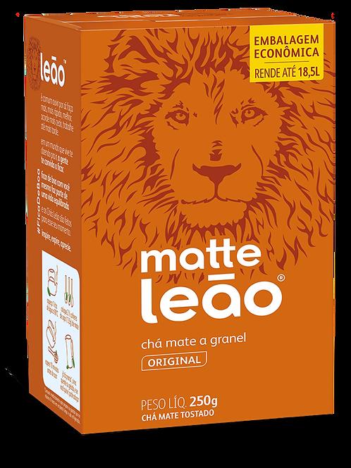 CHA MATTE GRANEL NATURAL LEAO 30X250GR