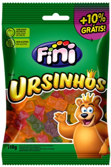 URSINHOS BRILHO FINI 12X110GR