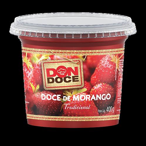 DOCE DE MORANGO 6X400G DON DOCE