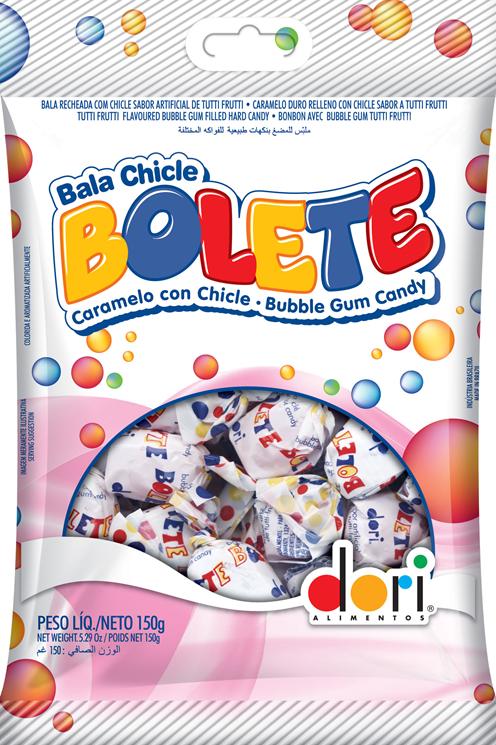 BALA CHICLE BOL 5X30X150G DORI