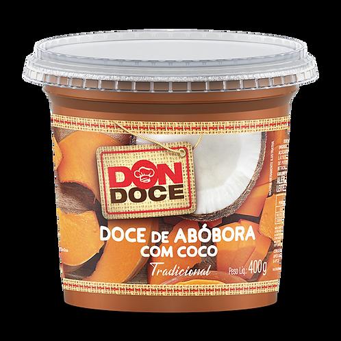 DOCE DE ABOBORA COM COCO 6x400G DON DOCE
