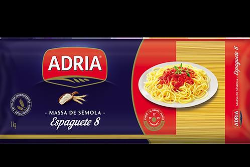 MASSA ADRIA SEMOLA ESPAGUETE 8 M DIAS 40X500G
