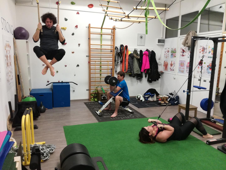 Trening v skupini