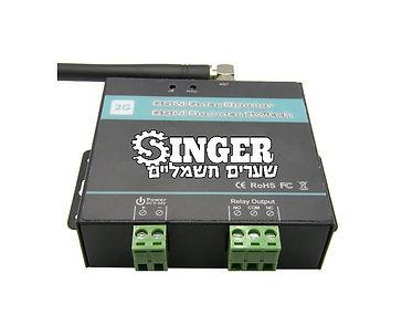 שערים חשמליים- בקר סלולרי
