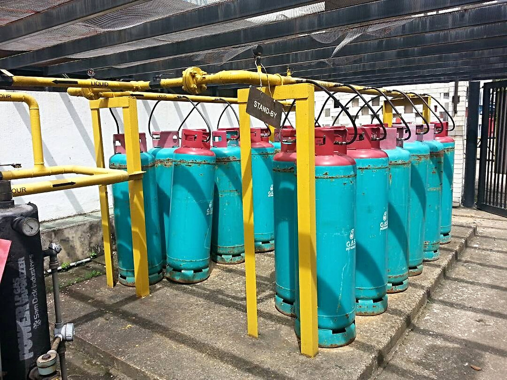 C50 LPG cylinder gas petronas shell bhp petron